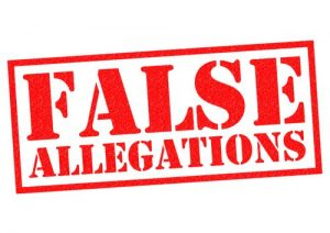 domestic violence false allegations made against an innocent individual