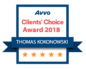Thomas Kokonowski 2018 Client's Choice Award